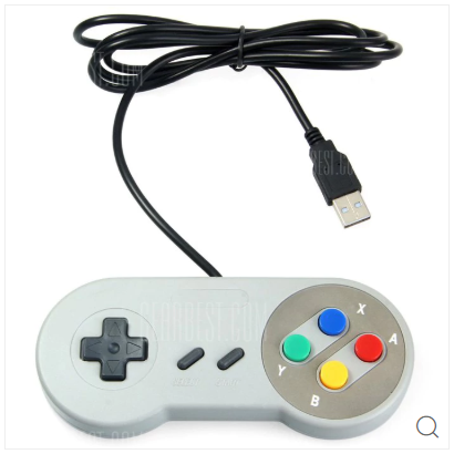 ▲Classic USB Controller for SNES