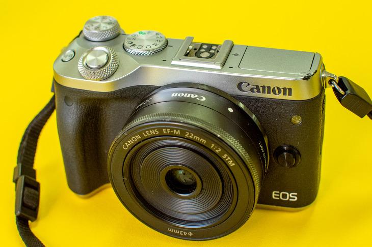 DSLR보다 간편하고 빠르게 촬영할 수 있는 미러리스 캐논 EOS M6
