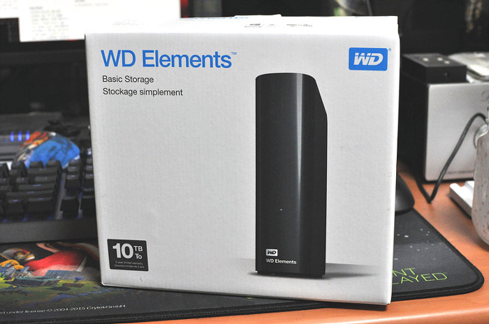 WD Elements Desktop 10TB