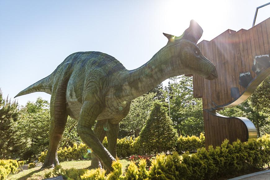 고성박물관 공룡 조형물