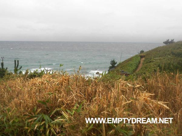 동해안 자전거길: 울진 - 죽변항 - 나곡해수욕장