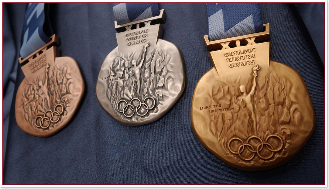 2002년 제19회 솔트레이크시티 올림픽(salt-lake-city-2002-medals)