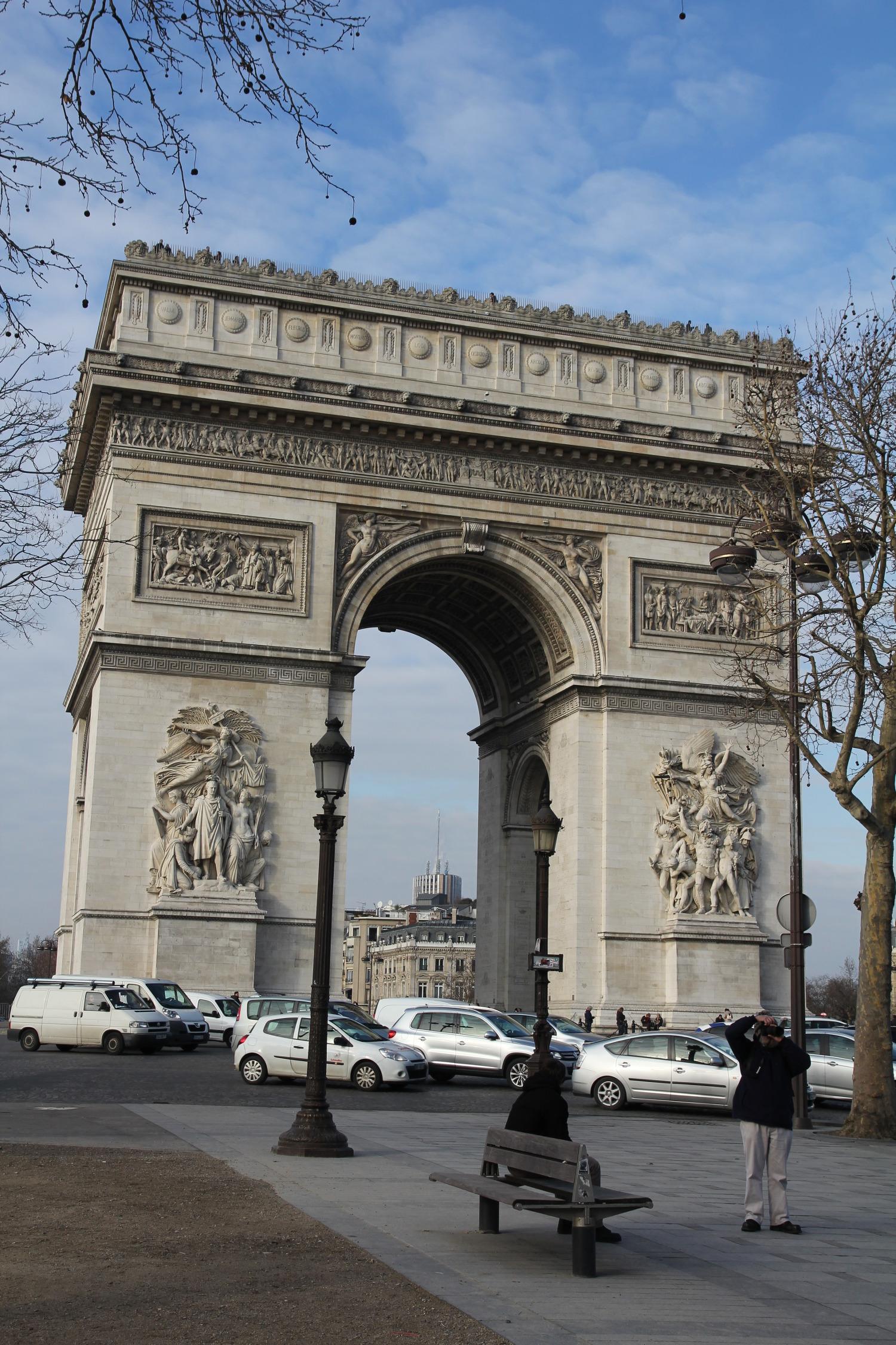 프랑스 여행 - 파리 여행#6 에투알 개선문/샹젤리제