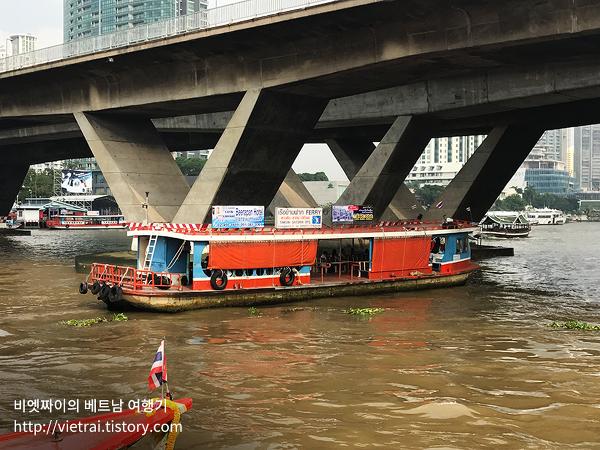 방콕 BTS와 수상버스 타고 왕궁 찾아가는 방법 및 수상 버스 가격 운행시간