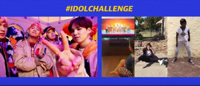 BTS(방탄 소년단) 'IDOL (Feat. Nicki Minaj)' 뮤직비디오가 새로 나왔어요~!  아이돌챌린지 33
