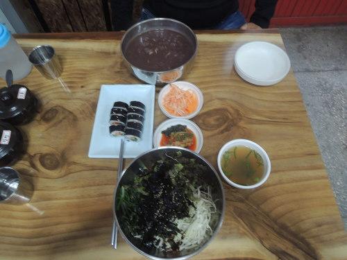 고성군 먹거리 고성시장맛집 옛날손칼국수