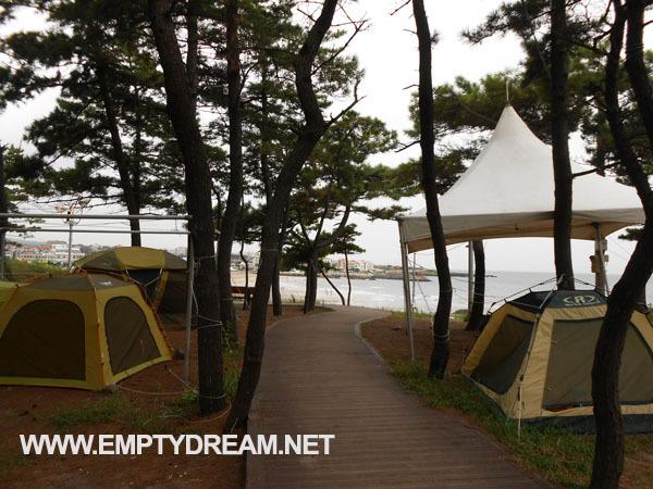 제주 환상 자전거길, 자전거 캠핑 여행, 제주항 - 이호테우 해수욕장