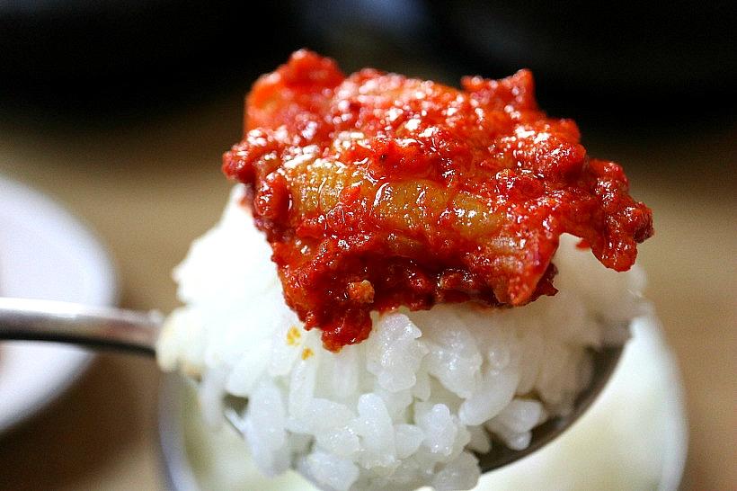 한국식당 - 흰밥