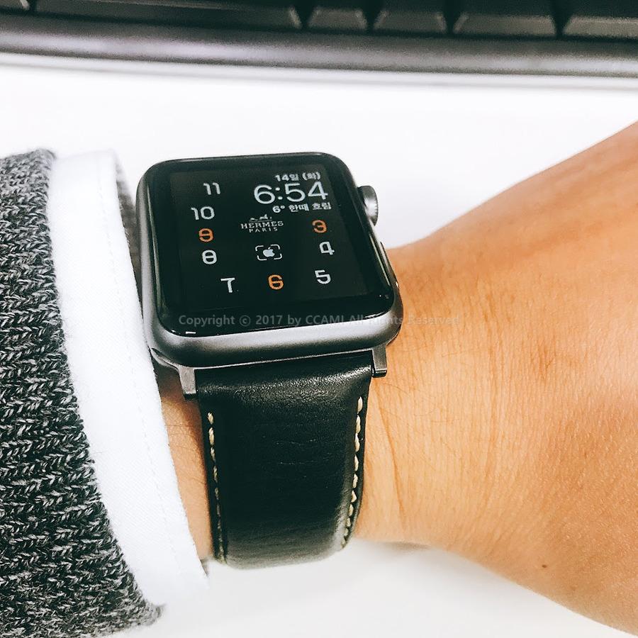 까미, IT, 리뷰, 애플, 애플워치, apple, apple watch, watch, applewatch, series 1, apple watch series 1, 애플워치 시리즈1, 가죽줄, 시계줄, 시계줄 교체, 줄질, CCAMI, 애플워치 시계줄 교체, 애플워치 시계줄, ZRC, 에르메스, HERMES, 커넥터, 애플워치 커넥터, 스마트워치