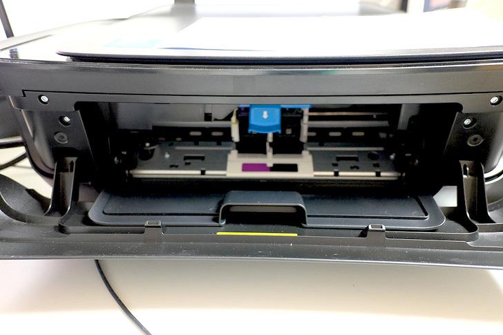 삼성 무한잉크젯 프린터 잉크 굳음