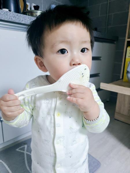 아기 이유식, 유아식 시작 밥주걱
