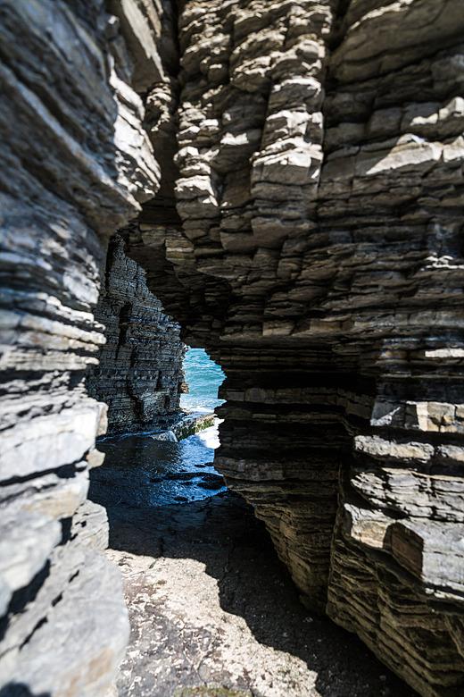 상족암 동굴