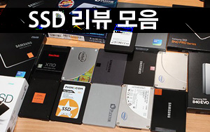 SSD 리뷰 모음
