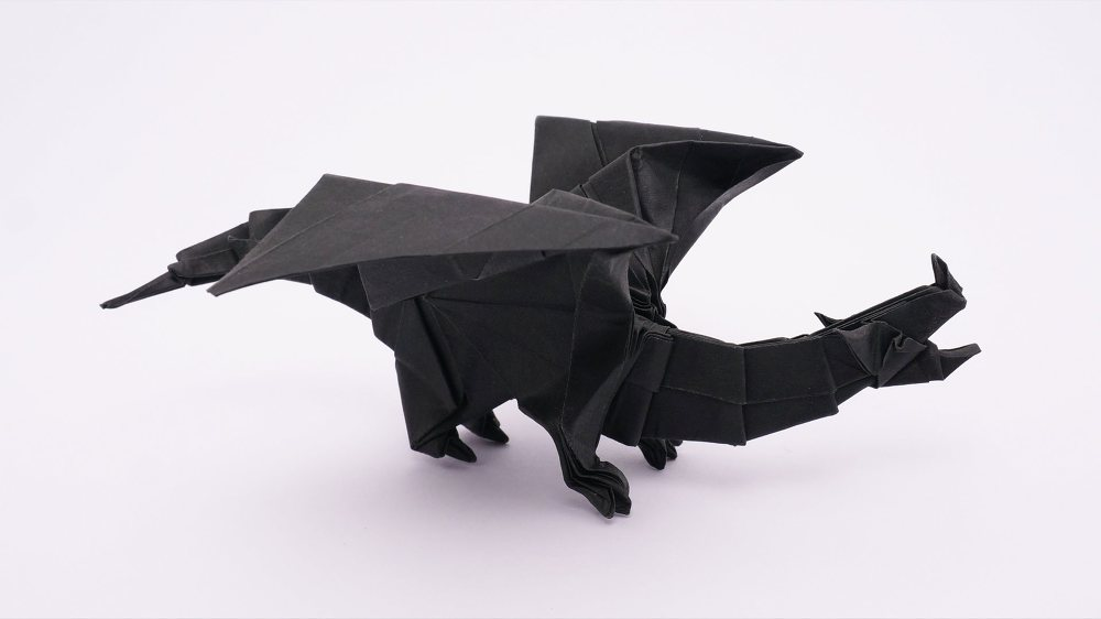 Incredible Origami Dragons that Will Set Your Heart on Fire | 562x1000