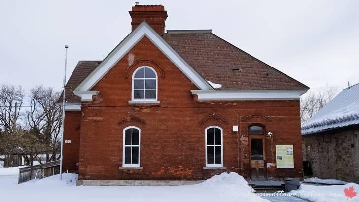19세기 주택입니다