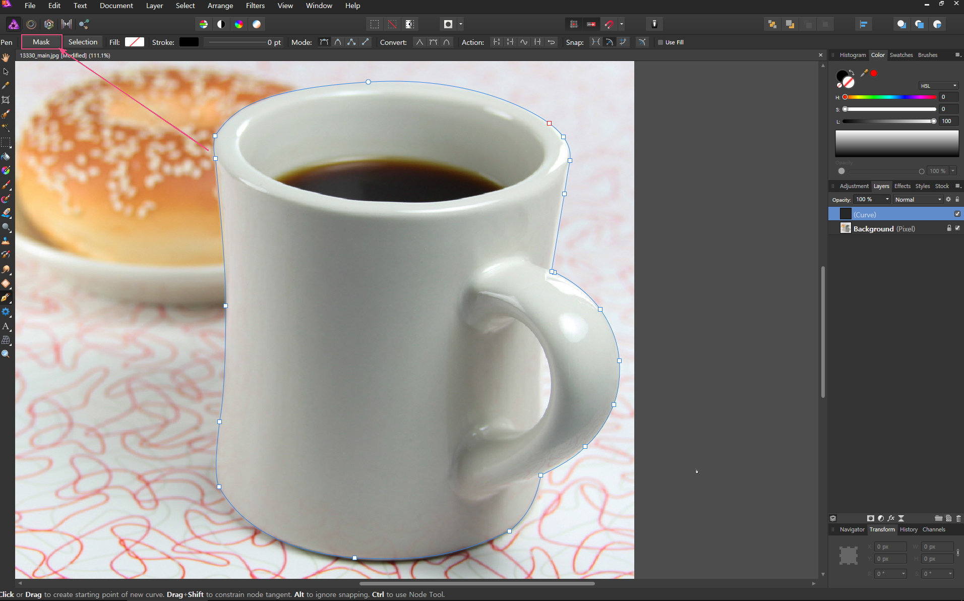 affinity photo 사용법