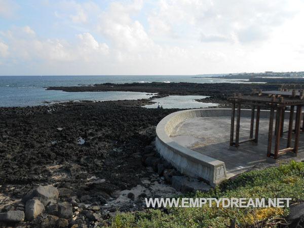 제주 환상 자전거길: 표선해수욕장 - 섭지코지 근처
