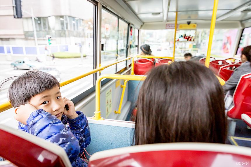 상하이 시티투어 버스