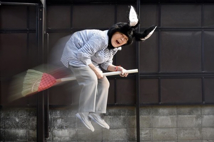인스타그램에서 화제 됐던 유쾌한 일본 할머니 근황