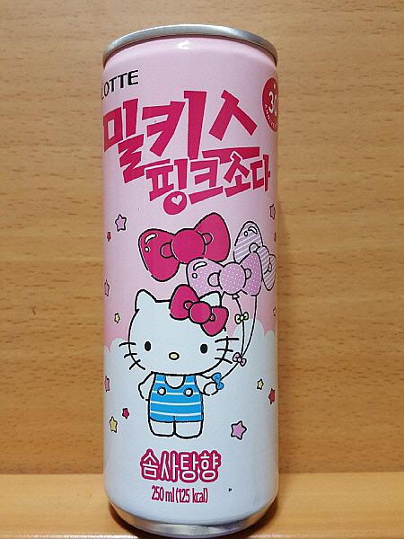 롯데 밀키스 핑크 소다 솜사탕향
