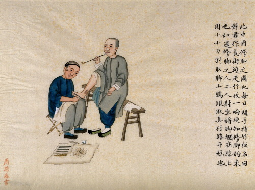 Ancient Chinese massage