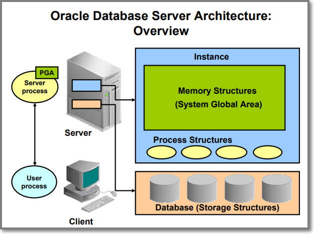 오라클 데이터베이스 서버 아키텍처