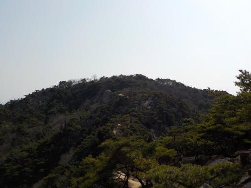 충남 홍성 용봉산 등산코스 등산지도