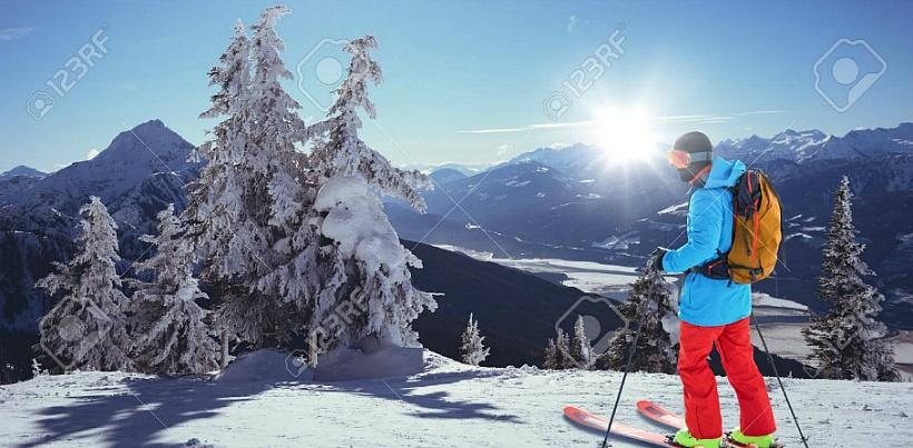 겨울 스포츠 스키