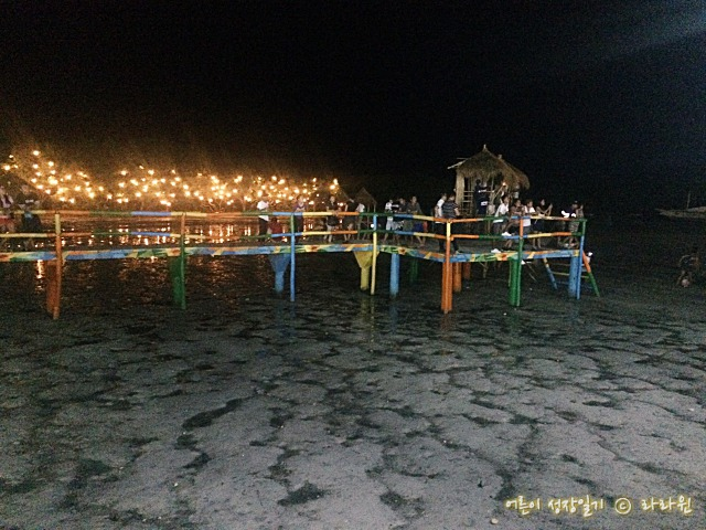 막탄슈라인 바닷가