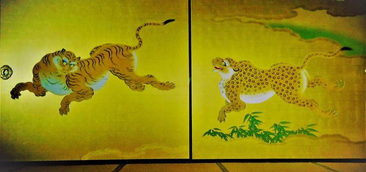 도쿠가와 가문 호랑이 그림