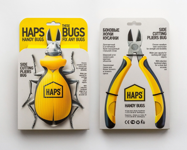 HAPS BUGS building tools, concept design