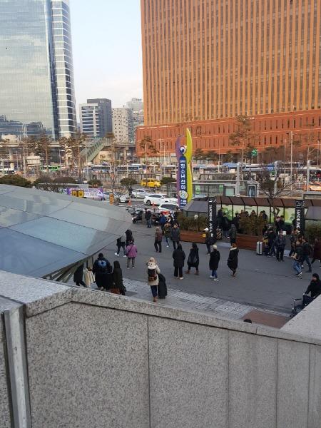 지하철 서울역 흡연구역