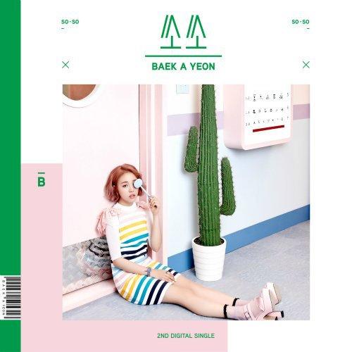 Baek A Yeon – so-so Lyrics [English, Romanization]