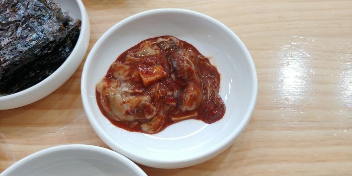 삼성동맛집, 목포명가 어리굴젓