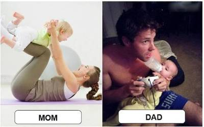 엄마 아빠 육아 차이 4