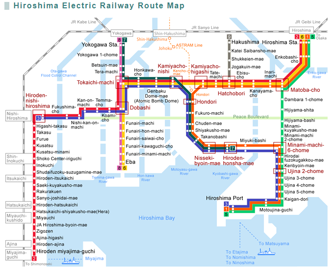 hiroshima subway map