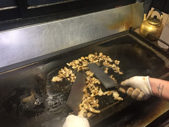 cooking gobchang