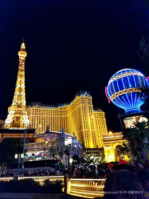 뷔페 먹으러 패리스 다녀왔습니다. [Paris Las Vegas] 라스베이거스 호텔