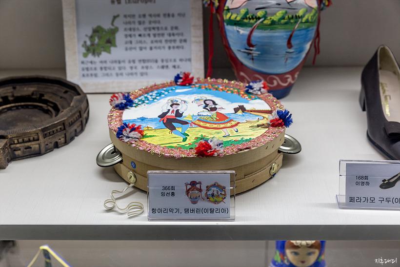 KBS수원 센터 견학홀 전시물