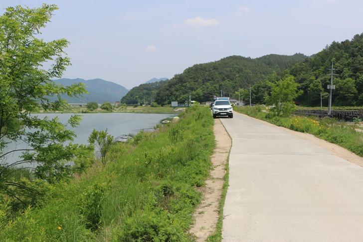 봉황천 붕어낚시 포인트 - 금산 제원보(명암리보)