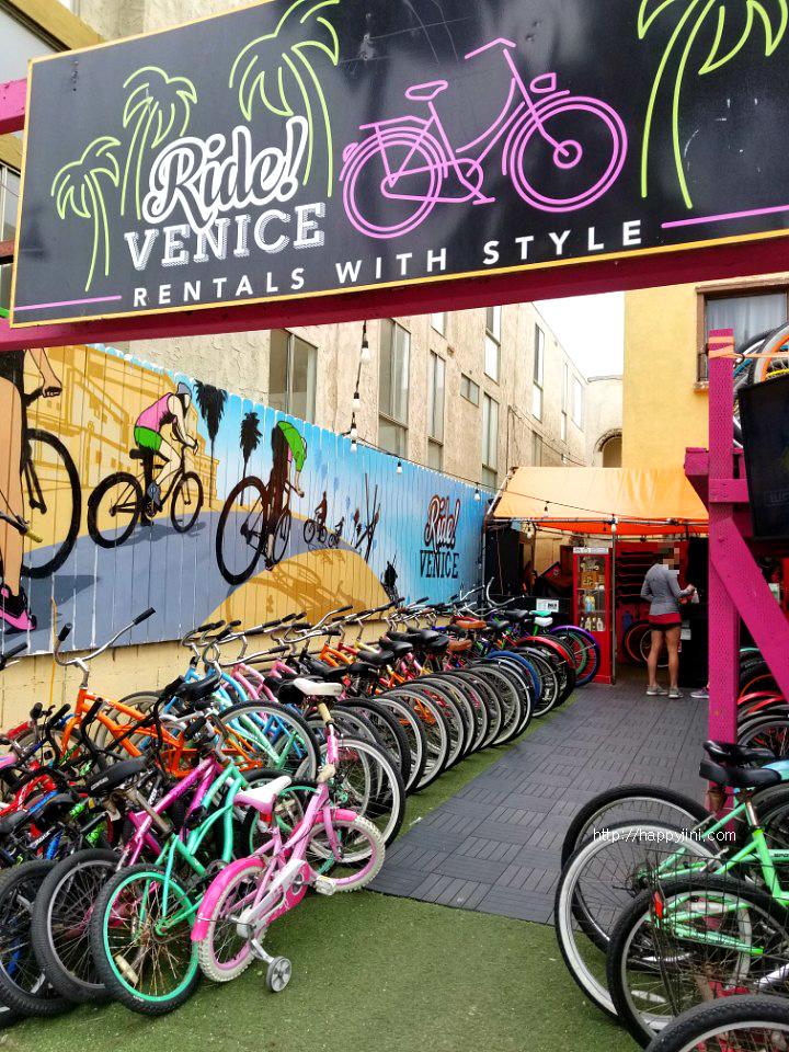 예술과 자유가 넘쳐 흐르는 베니스 비치 [LA 여행/ 캘리포니아 여행/ 엘에이 바닷가 / 베니스 운하 / Venice Beach] 자전거 ㅣ 보드 워크