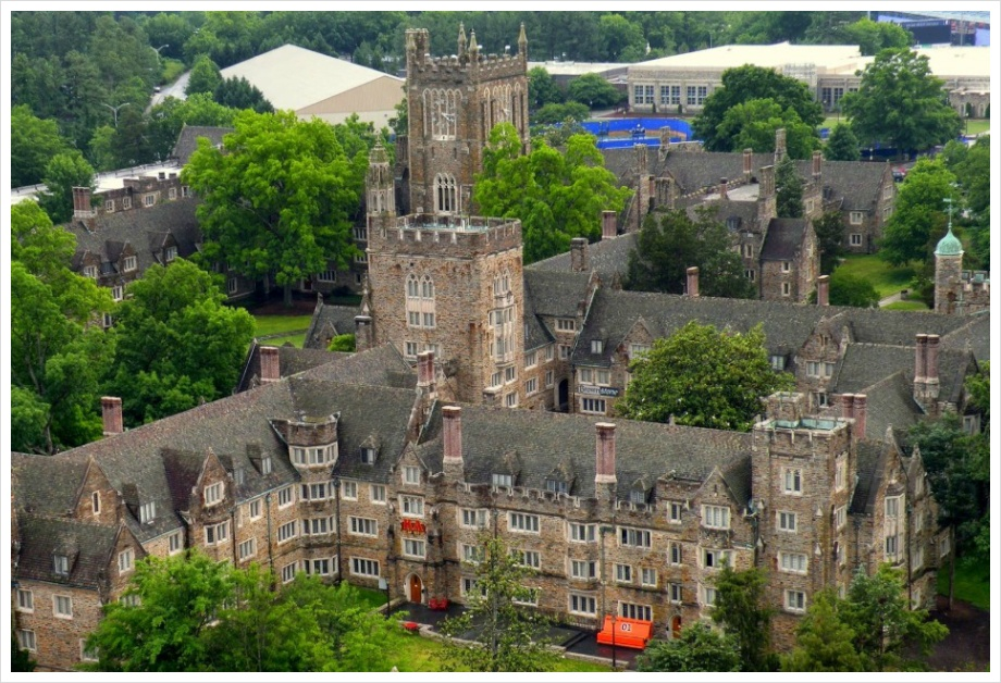 Panorama of Duke University