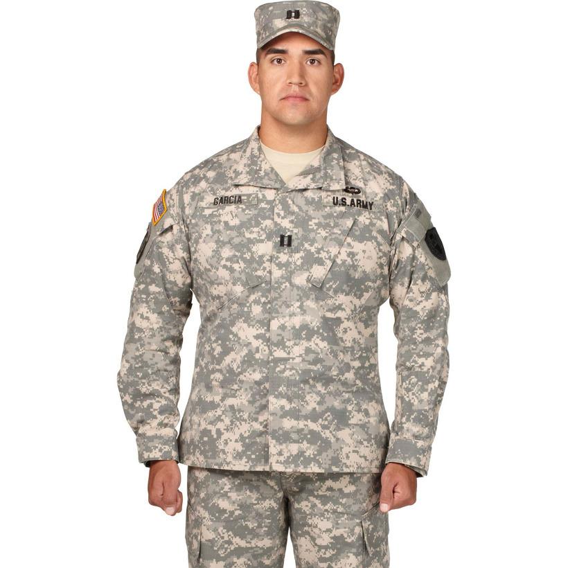 Genuine US Military ACU Army Combat Uniform Jacket Ripstop