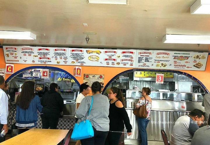 LA에 왔다면 꼭 가야할 멕시칸 식당 엘 타우리노[ El Taurino / 엘에이 맛집] 내부사진