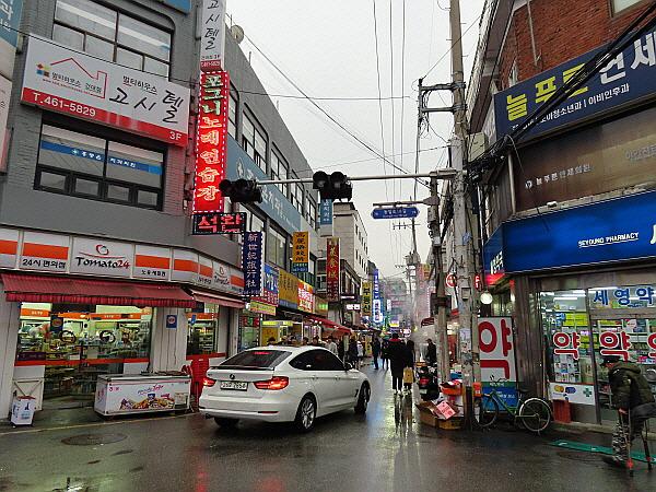 서울 중국인 체류 지역