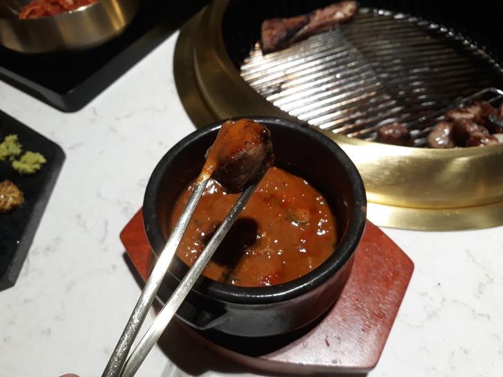 [강남맛집]신도세기 삼성역점 - 특허받은 슈퍼골든포크 숄더랙 삼겹살 맛집