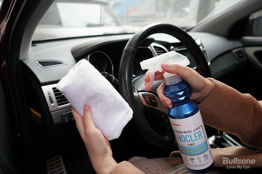 반려동물 차량용품 소독제 살균소독 차량용방향제