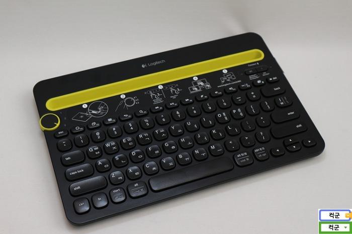 로지텍 k480 블루투스 키보드