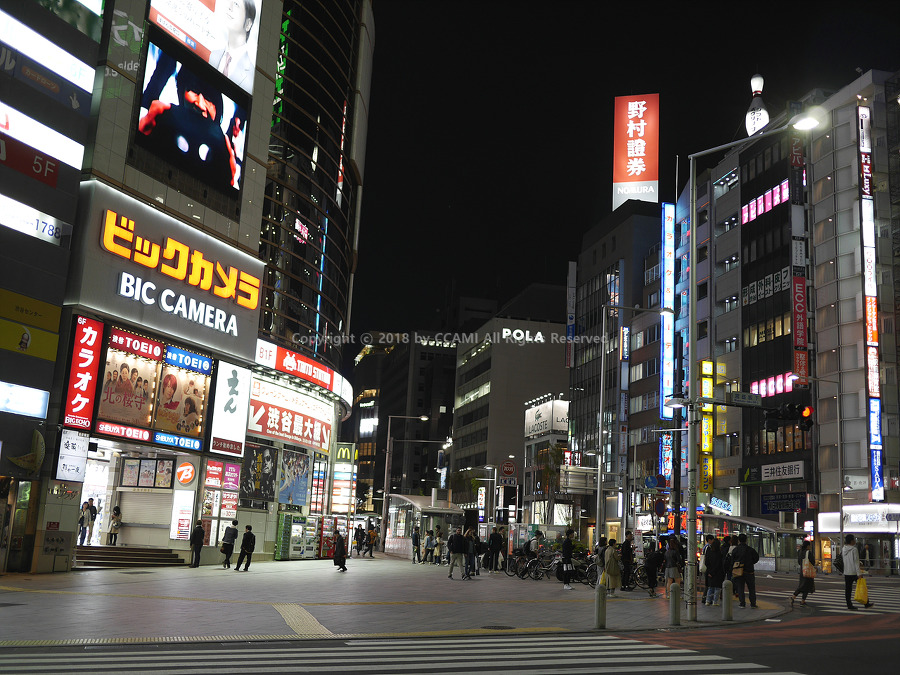 일본 여행, 일본, 도쿄, 시부야, 시부야 여행, 시부야 사거리, 야경, 도쿄 야경, 일본 야경, 시부야 신호등, 까미, CCAMI, JAPAN, TOKYO, SIBUYA, 파나소닉, 루믹스 GX7, GX7, 미러리스, 미러리스 카메라