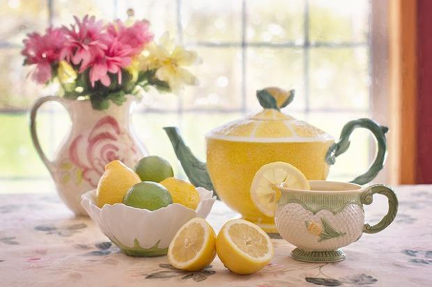 건강에 좋은 차 종류와 효능 13가지 레몬차